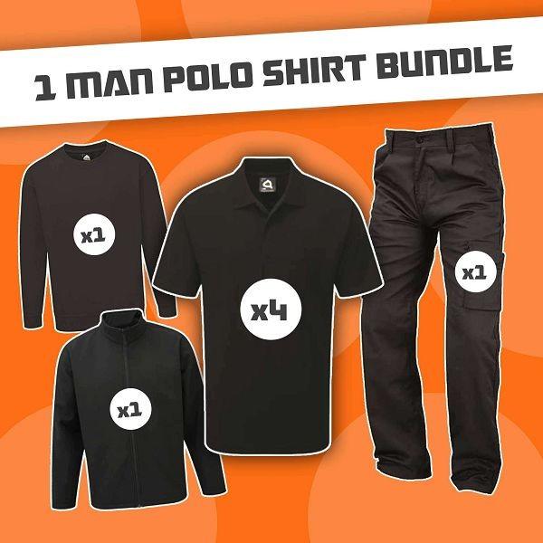 1 Man Polo Shirt Bundle