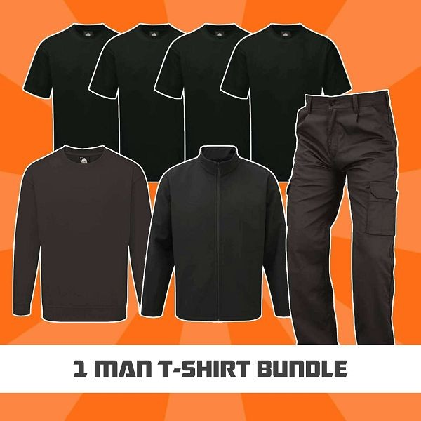1 Man T-Shirt Bundle