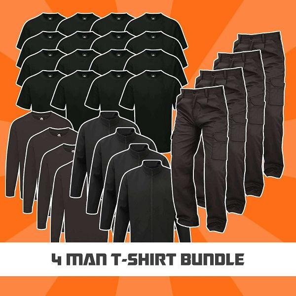 4 Man T-Shirt Bundle