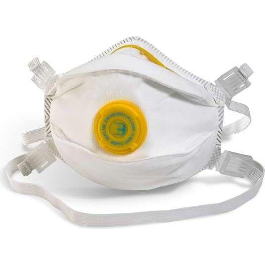 B-Brand FFP3 P3V Mask Valved (Box 5)