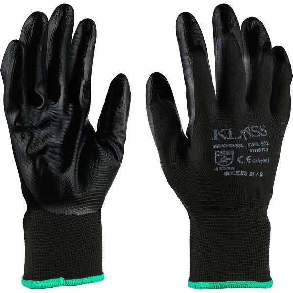 Black Nitrile Glove (12 Pack)