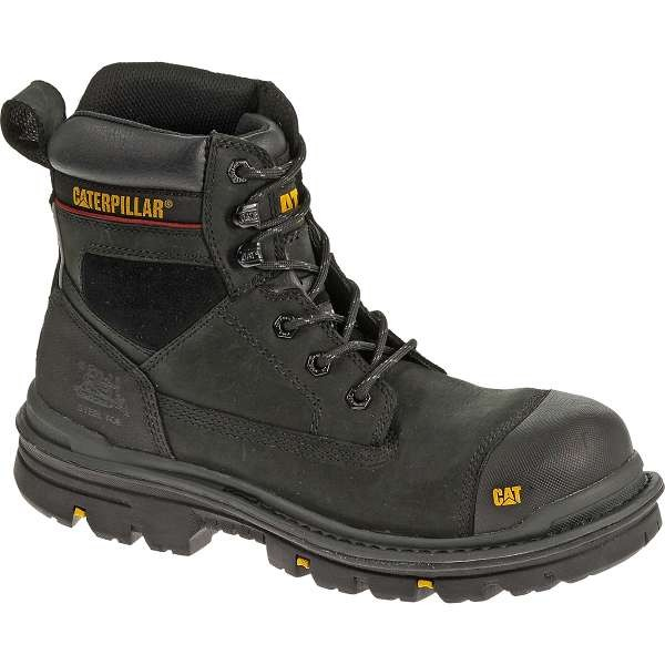 Caterpillar Black Gravel Waterproof Safety Boot