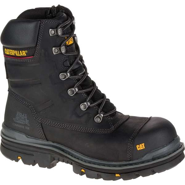 Caterpillar Premier Black Safety Boot