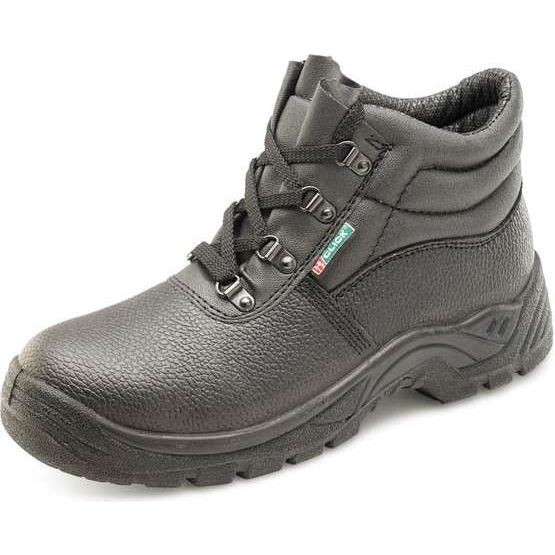 D-Ring Black Chukka Safety Boots