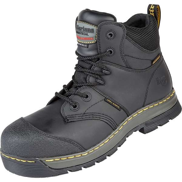 Dr Martens Black Surge ST Waterproof Safety Boots