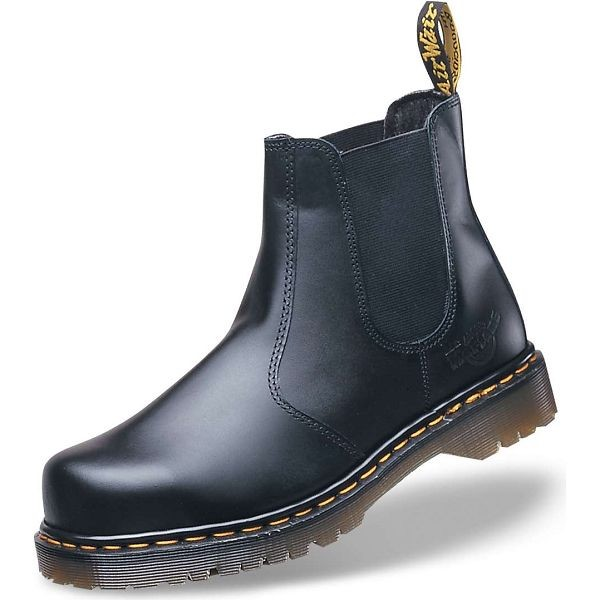 Dr Martens Icon Black Dealer Safety Boot (No Yellow Stitching)
