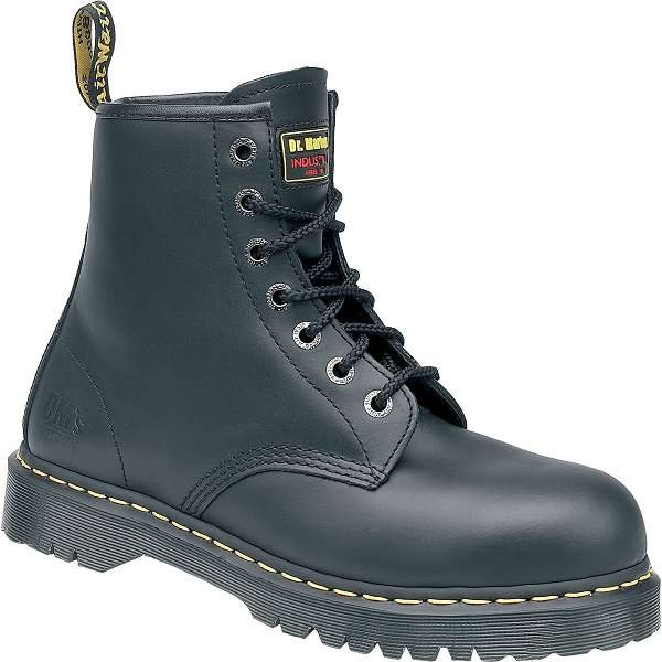 Dr Martens Icon Black SB 7 Eyelet Safety Boot