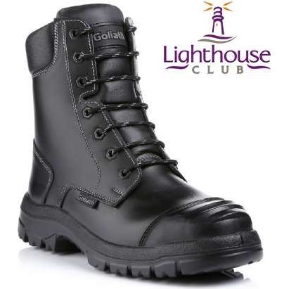 Goliath Safety Combat Boot With Sidezip (SDR15CSiZ)