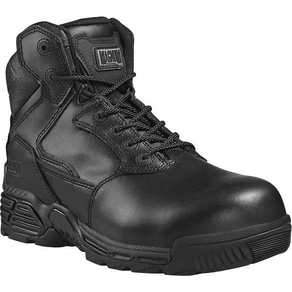 Magnum Stealth Force 6.0 Leather Toe Bumper Safety Boots