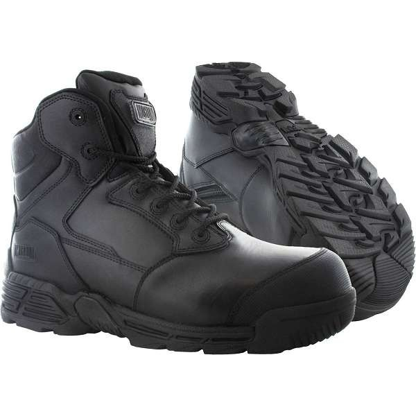Magnum Stealth Force 6.0 Sidezip & Toe Bumper Safety Boots