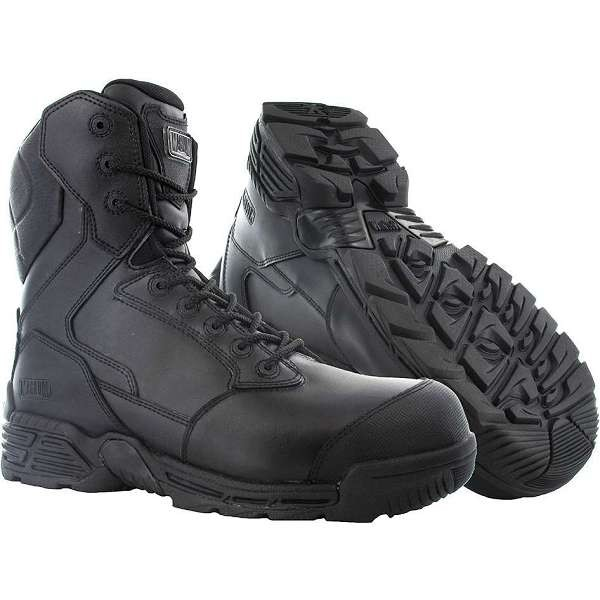 Magnum Stealth Force 8.0 Sidezip & Toe Bumper Safety Boots