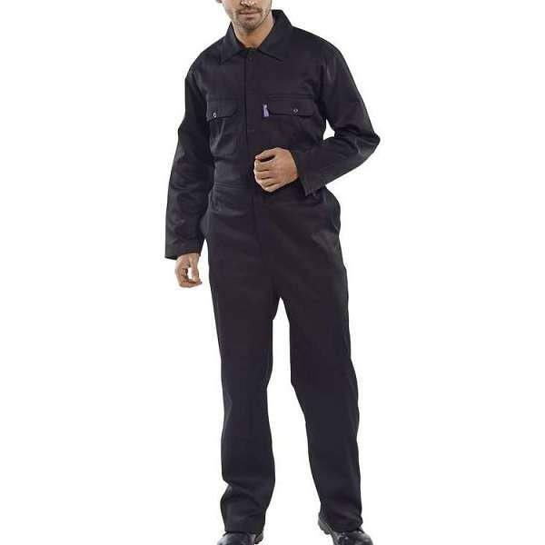 Regular Black Coverall