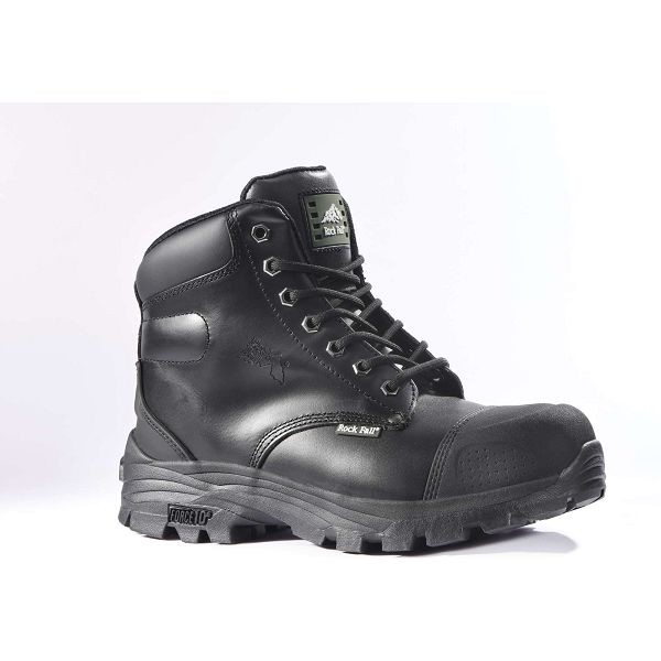 Rock Fall Ebonite Safety Boots