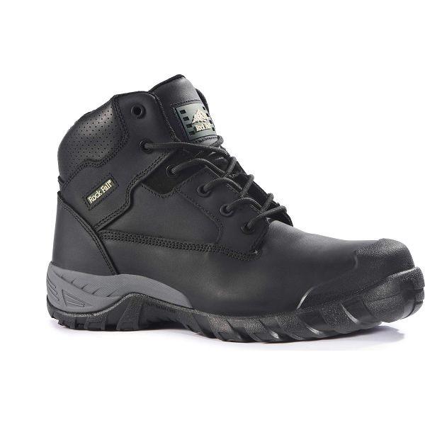 Rock Fall Flint Black S3 SRA Composite Toe Cap Hiker Safety Boots Work Boots PPE