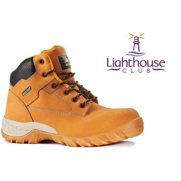 Rock Fall Flint Non-Metallic Safety Boots