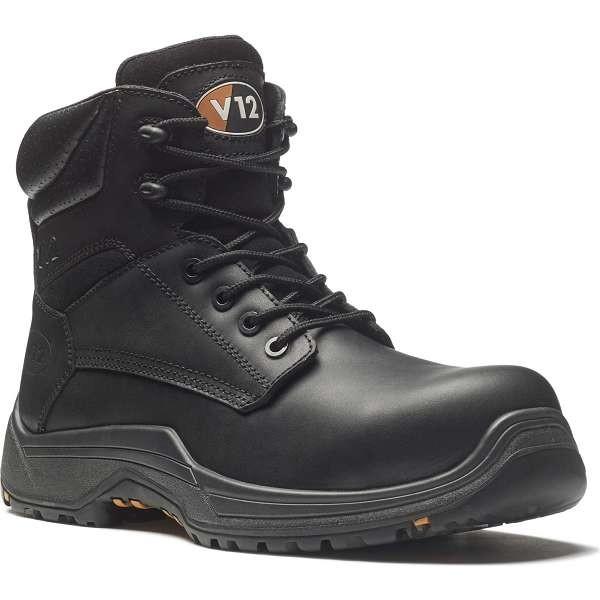 V12 Bison Igs Black S3 Safety Boots