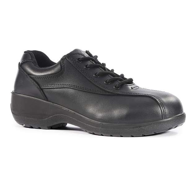 Vixen Amber Ladies Black Safety Shoes