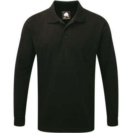 Weaver Premium Long Sleeve Polo Shirt