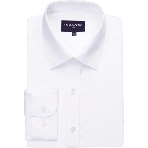 Brook Taverner Vulcan Slim Fit Shirt - White