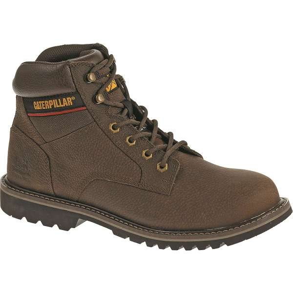 Caterpillar Electric Brown Safety Boot