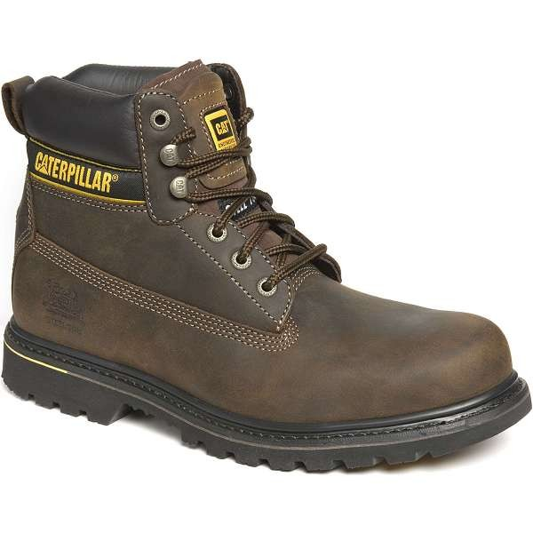Caterpillar Holton Brown Safety Boot