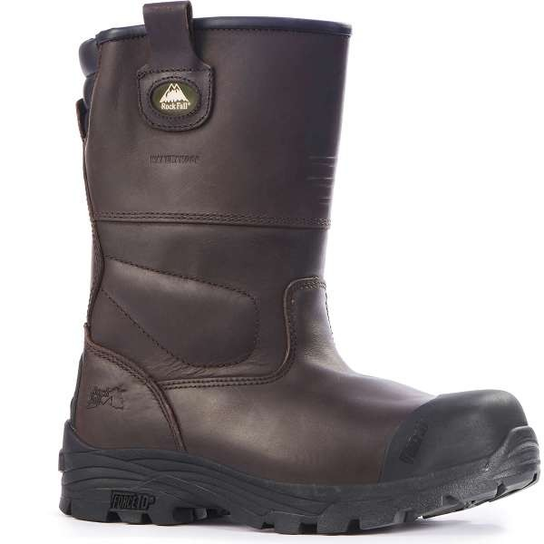 Rock Fall Texas Crazy Horse Brown S3 Safety Riggers