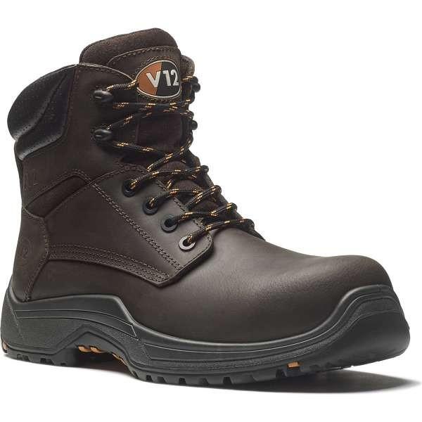 V12 Bison IGS Brown S3 Safety Boots