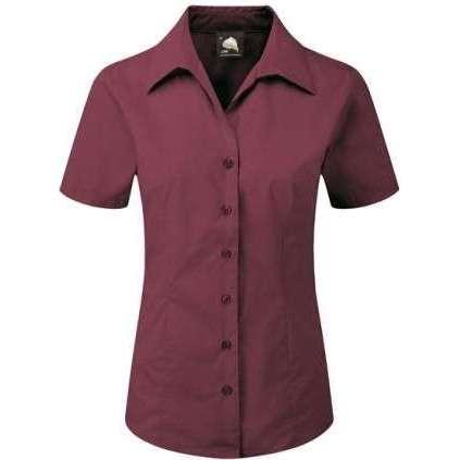 Edinburgh Premium Short Sleeve Blouse