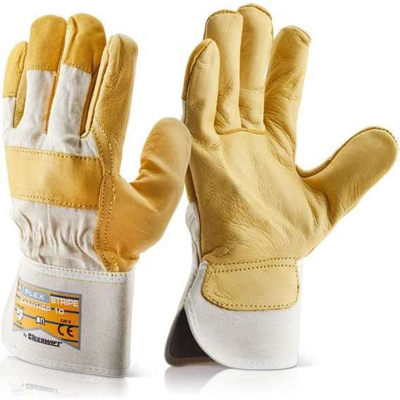 Canadian Yellow Hide Rigger Glove (10 Pack)