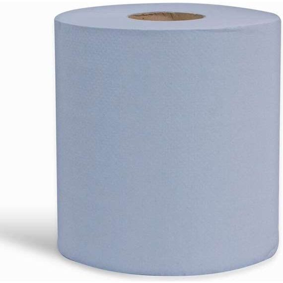 Centrefeed 2ply Blue Tissue Roll