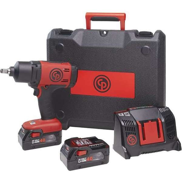 Chicago Pneumatic CP8848 Cordless Impact Wrench Kit 1/2″