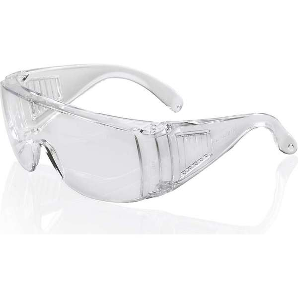 Boston  Safety Specs - Clear