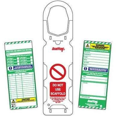 Complete Scafftag® Pack (Pack of 10)
