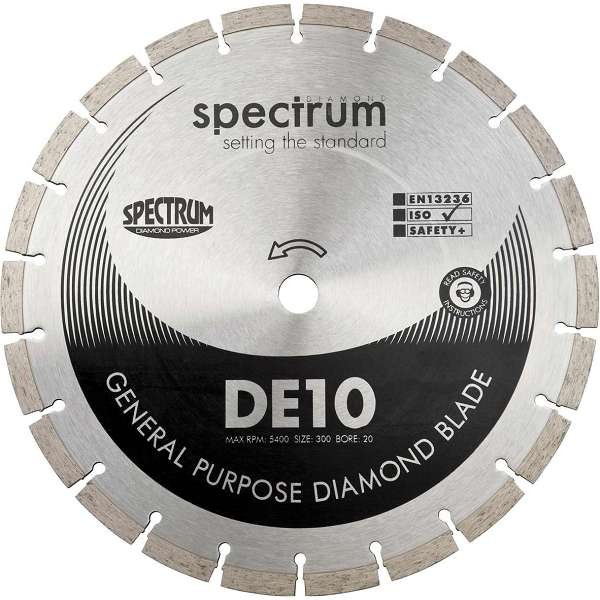 DE10 Standard General Purpose Diamond Blade