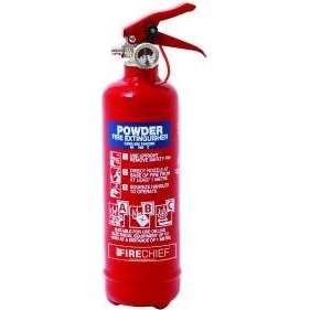 Firechief 600g ABC Powder Fire Extinguisher c/w Wire Bracket (FMP600)