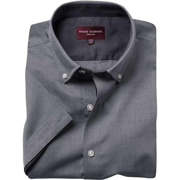 Brook Taverner Calgary Short Sleeve Oxford Shirt