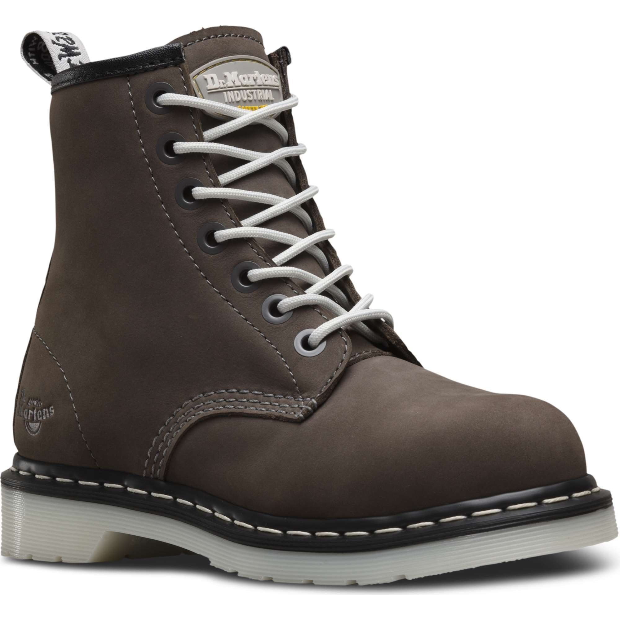 united kingdom good out x stylish design Dr Martens Arbor ST Ladies Grey Chelsea Safety Boots | Work & Wear Direct