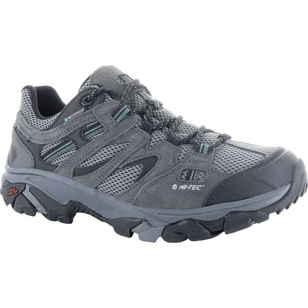 Hi-Tec Ravus Vent Cool Grey Low Waterproof Trainers