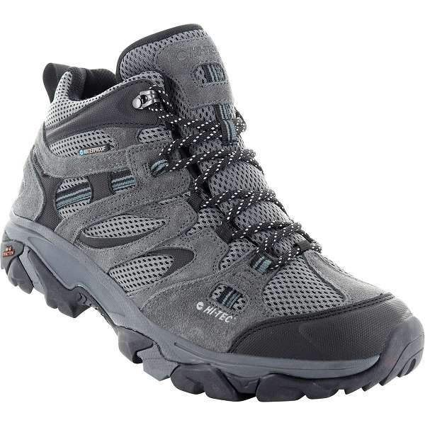 Hi-Tec Ravus Vent Cool Grey Mid Waterproof Boots