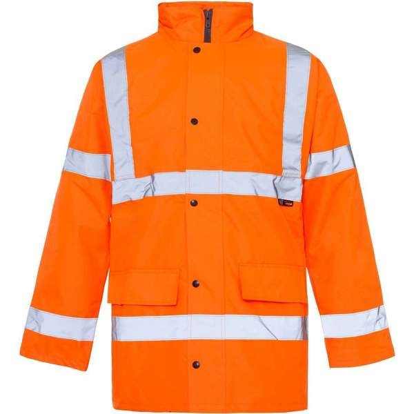 Hi Vis Orange Rail Spec Standard Parka