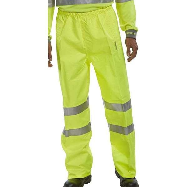 Hi Vis Yellow Birkdale Overtrousers