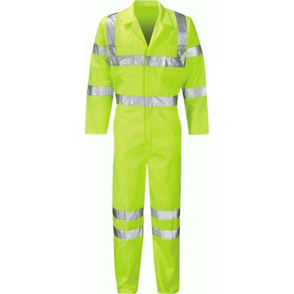HI Vis Yellow Coverall (Sigma)