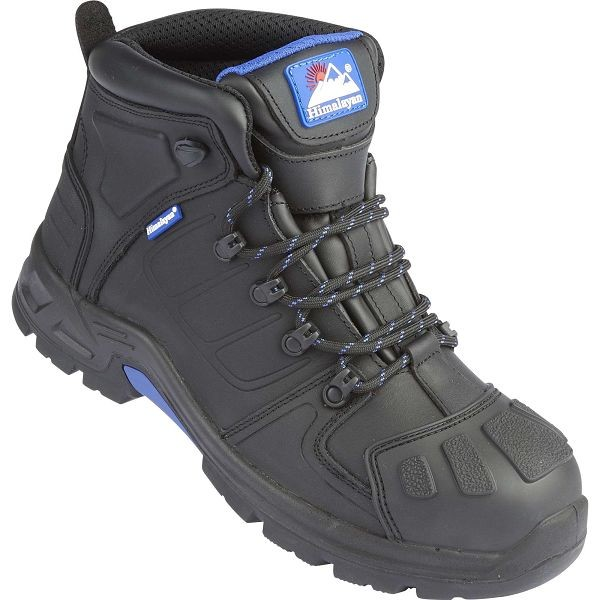 Himalayan Storm S3 Black Leather Waterproof Safety Boots (5209)