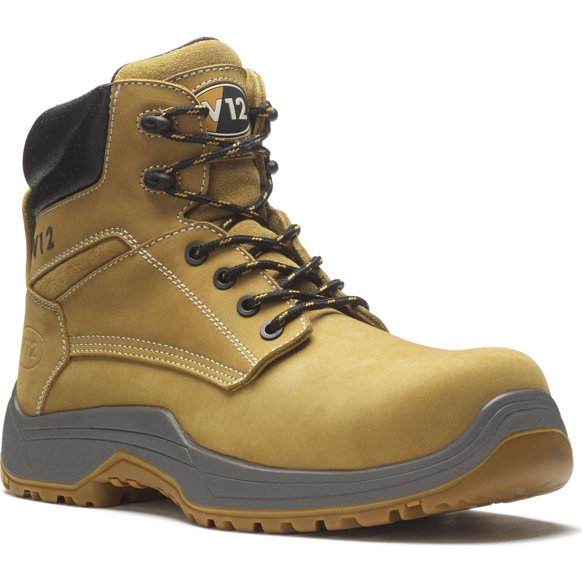 V12 Puma IGS Honey Nubuck Safety Boots