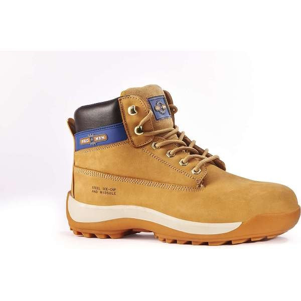 Pro Man Orlando S3 Honey Safety Boots