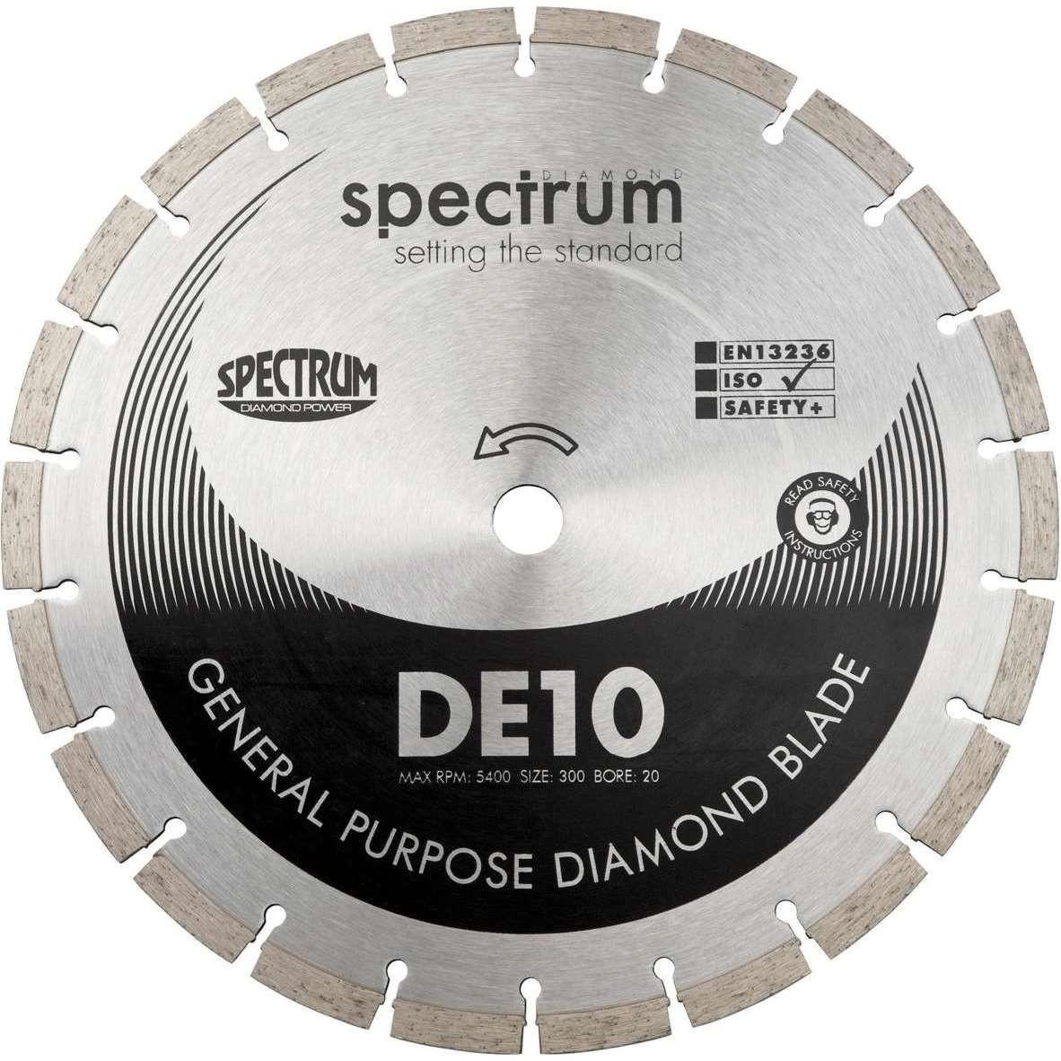 DE10 Standard General Purpose Diamond Blade