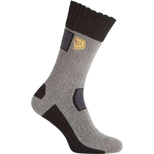 JCB Pro Rigger Boot Socks - Grey