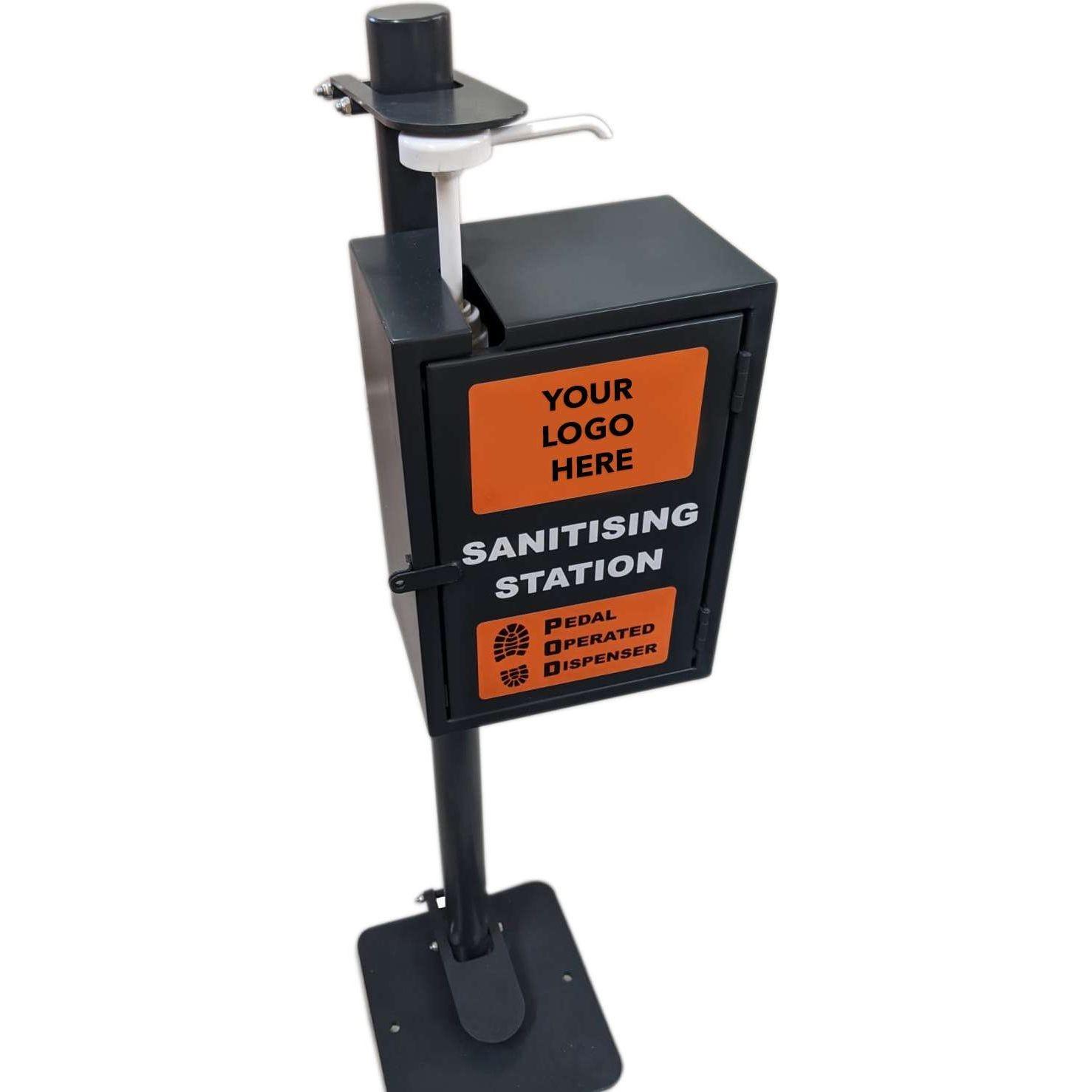 New P.O.D Plus™ (Pedal Operated Dispenser) w Lockbox