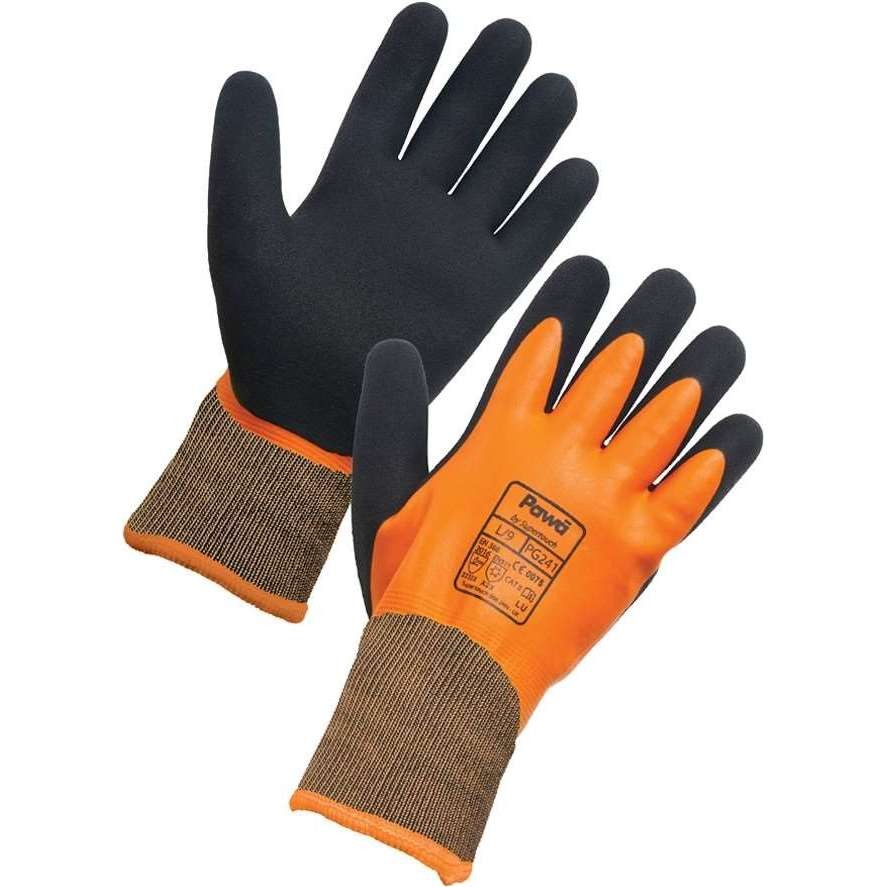 Orange Thermal PAWA Gloves (PG241)