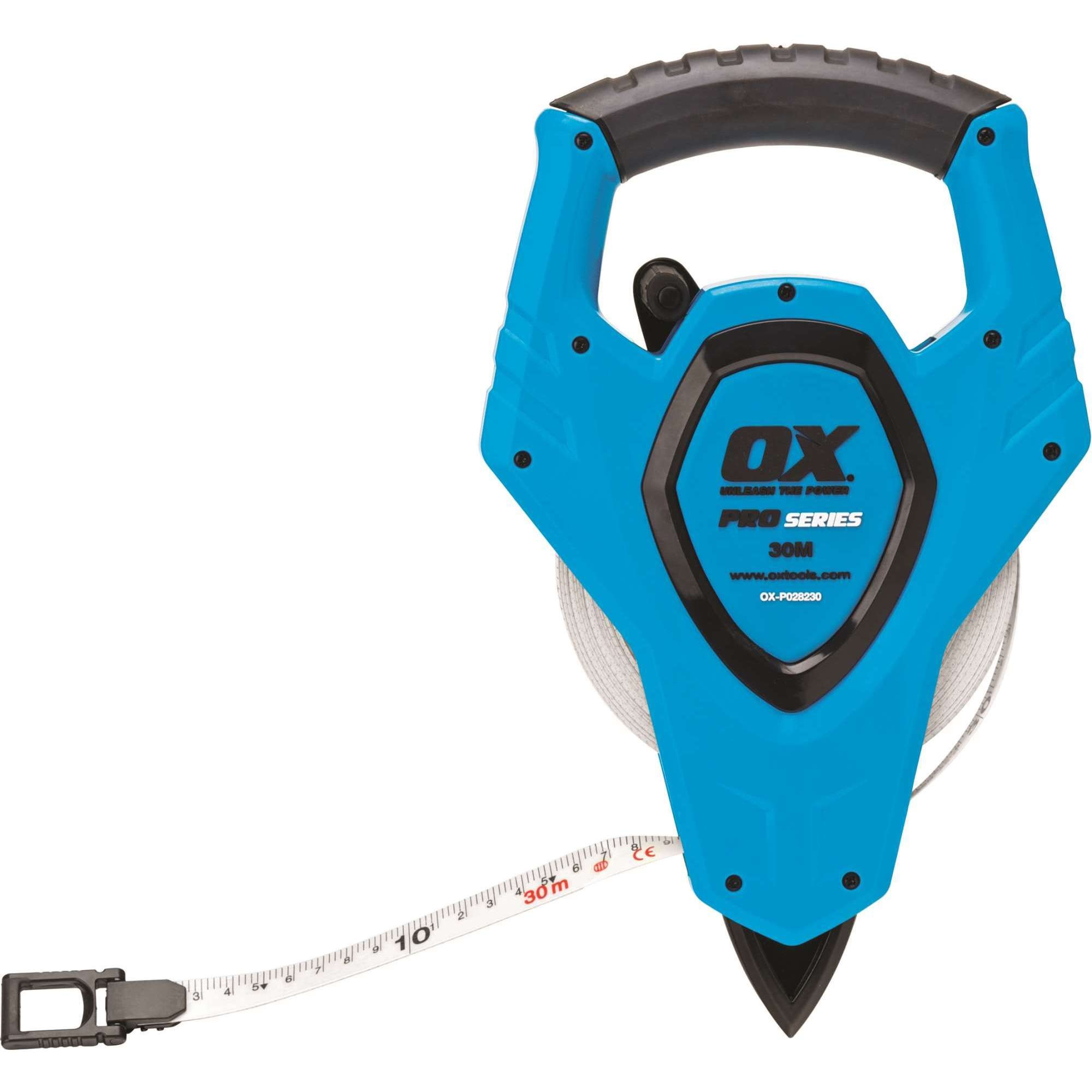 Ox Trade 30M Open Reel Tape Measure